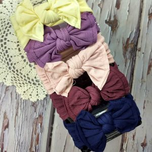 Chloe bow knot headwraps