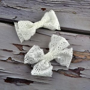 Lace Hair Clips