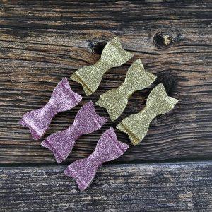 glitter hair clip