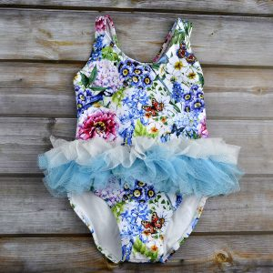 Baby girl swimmers